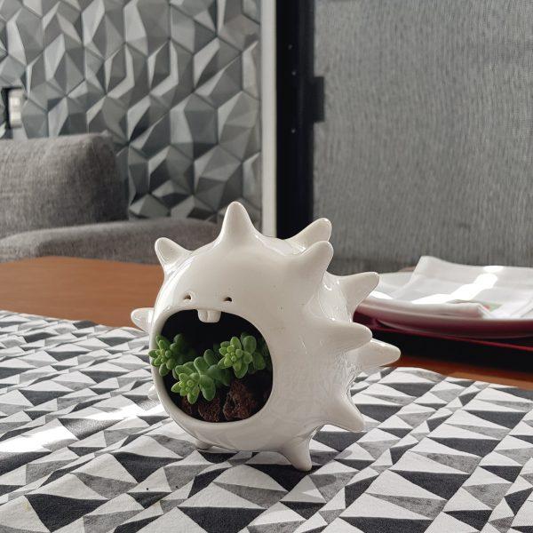 comelon erizo de ceramica marca tuio diseño mexicano hecho a mano