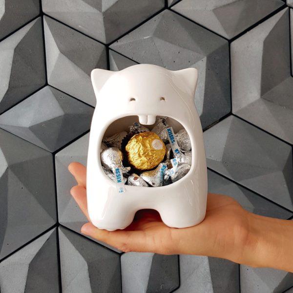comelon huella regalo dulces de ceramica marca tuio diseño mexicano