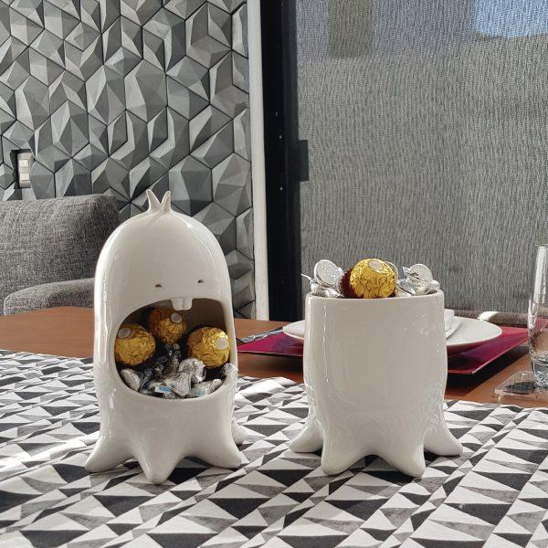 juego comelon pulpo tazon multiusos de ceramica marca tuio diseño mexicano