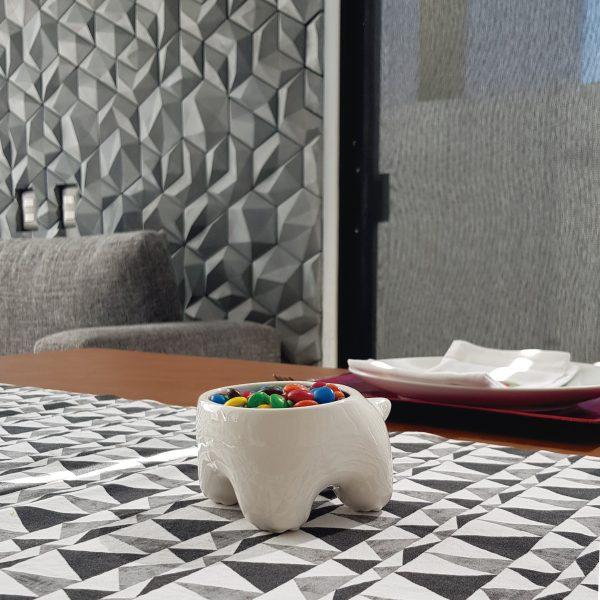tazon huella de ceramica marca tuio diseño mexicano contenedor dulces