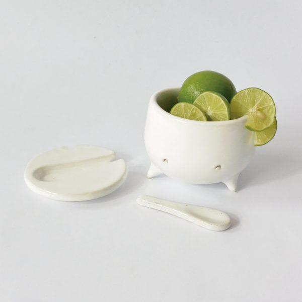 cajete de ceramica marca tuio diseño mexicano artesanal