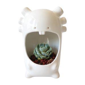 comelon ajolote de ceramica marca tuio diseño mexicano home office