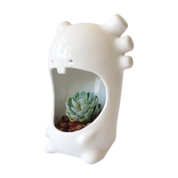 comelon ajolote de ceramica marca tuio diseño mexicano decoracion oficina