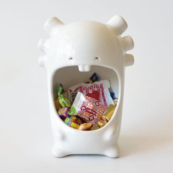 comelon ajolote de ceramica marca tuio diseño mexicano original candybar