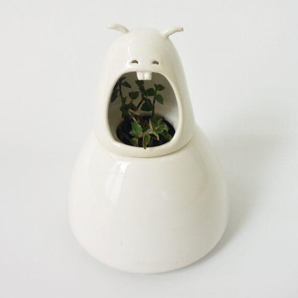 comelon catarina hecho a mano de ceramica marca tuio diseño mexicano