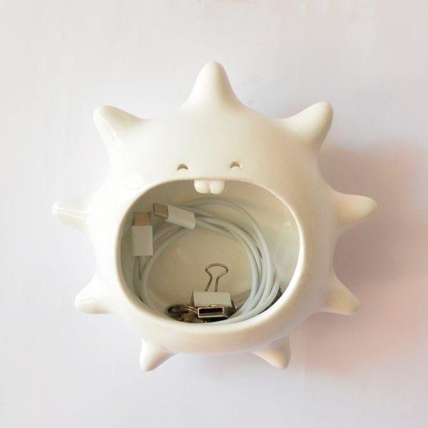 erizo de pared de ceramica marca tuio diseño mexicano regalo corporativo