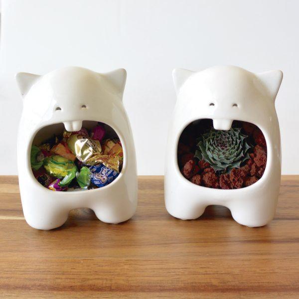 comelon huella hecho a mano de ceramica marca tuio diseño mexicano