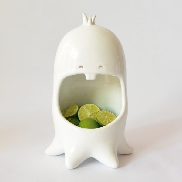 comelon pulpo de ceramica marca tuio diseño mexicano artesanal
