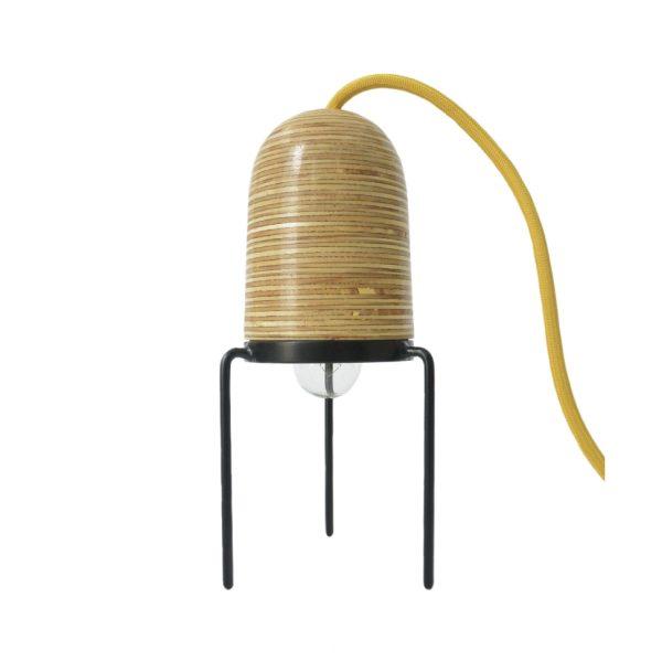 lampara cupulamp de madera marca tuio diseño mexicano regalo empresarial