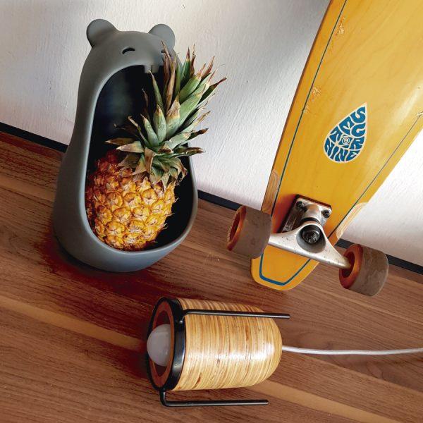 lampara cupulamp de madera marca tuio diseño mexicano hecho a mano