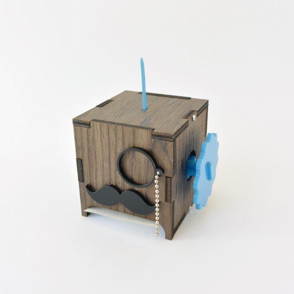 don notas caja para apuntes de madera marca tuio diseño mexicano decoracion oficina