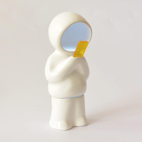 lampara hood parado pilas de ceramica marca tuio diseño mexicano