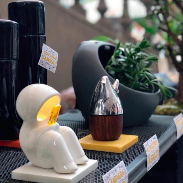 lampara hood sedentario pilas de ceramica marca tuio diseño mexicano