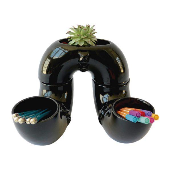 jarra inseparable ceramica marca tuio diseño mexicano plantas cactus suculentas