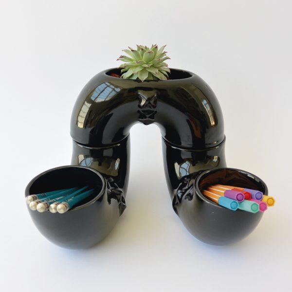 jarra inseparable ceramica marca tuio diseño mexicano deoracion oficina