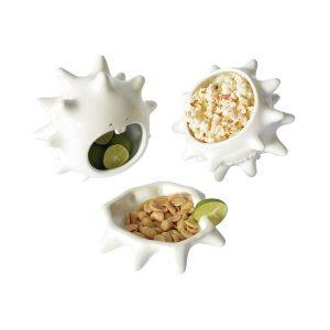 juego tazones erizo de ceramica marca tuio diseño mexicano regalo corporativo regalos originales