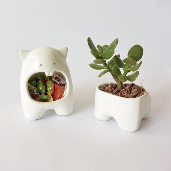 juego comelon huella tazon multiusos de ceramica marca tuio diseño mexicano decoracion hogar