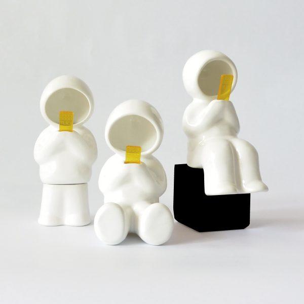 juego lamparas hood de ceramica marca tuio diseño mexicano decoracion