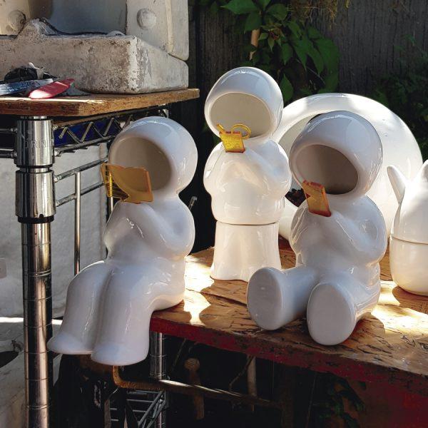juego lamparas hood de ceramica marca tuio diseño mexicano