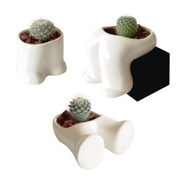 juego de pies hood de ceramica marca tuio diseño mexicano regalo empresarial