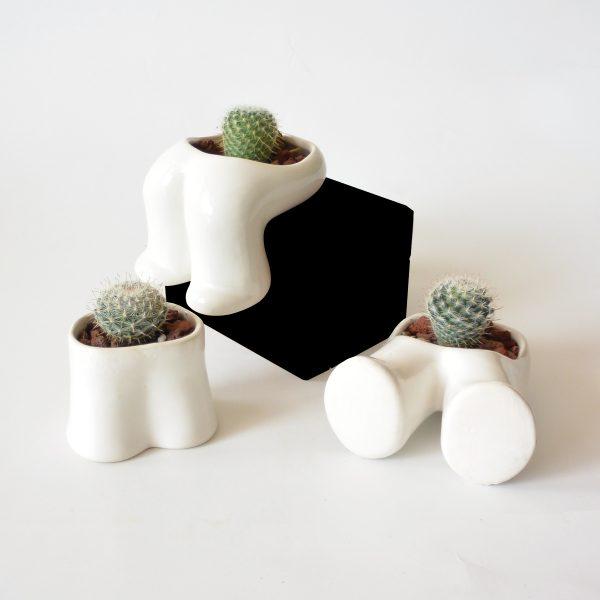 juego de pies hood de ceramica marca tuio diseño mexicano regalo corporativo
