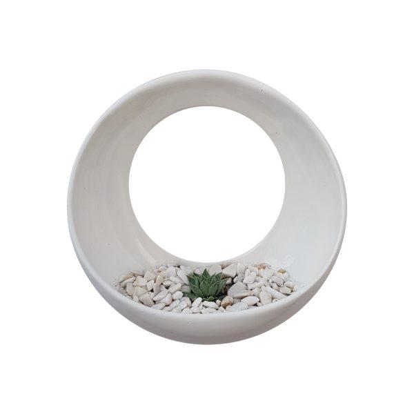 luna de ceramica marca tuio diseño mexicano contenedor de pared