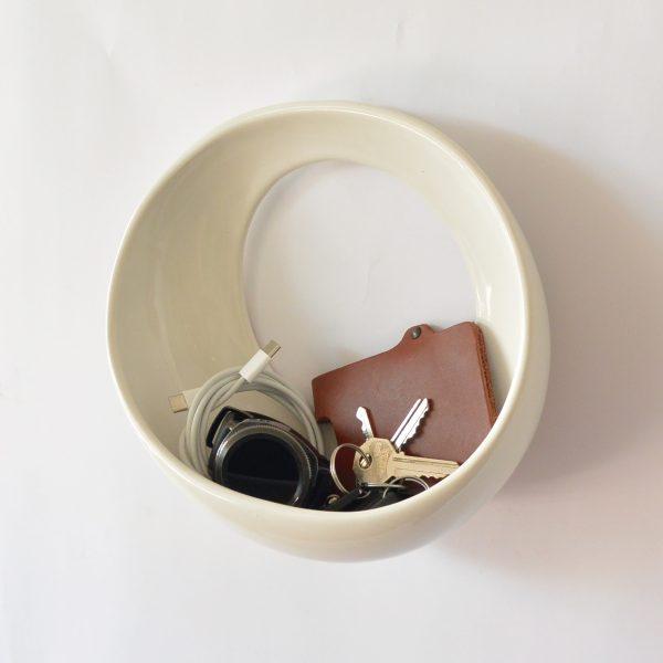 luna 22 de ceramica marca tuio diseño mexicano tirabolsillo