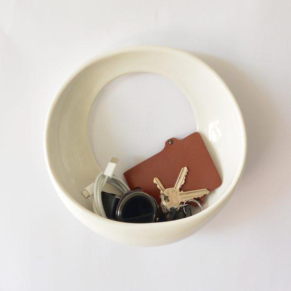 luna 22 de ceramica marca tuio diseño mexicano llaves telefono cartera