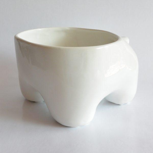 mega tazon huella de ceramica marca tuio diseño mexicano hecho a mano