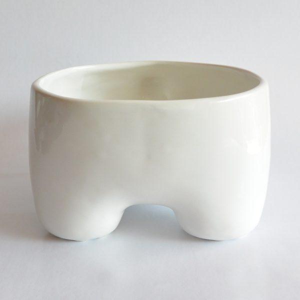 mega tazon huella de ceramica marca tuio diseño mexicano contenedor multiusos