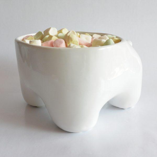 mega tazon huella de ceramica marca tuio diseño mexicano dulces decoracion