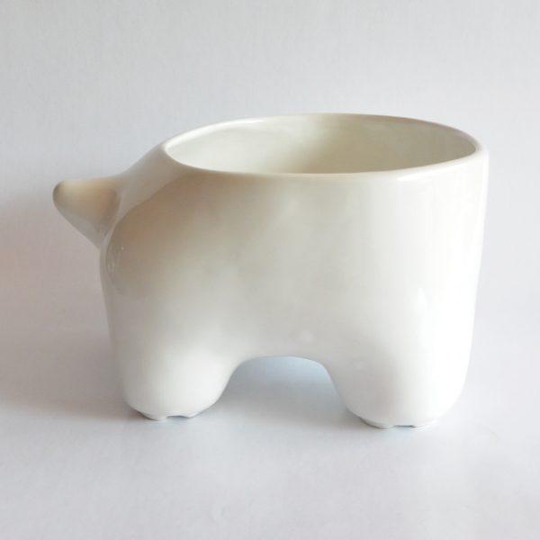 mega tazon huella de ceramica marca tuio diseño mexicano