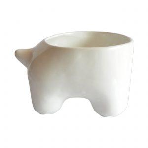 mega tazon huella de ceramica marca tuio diseño mexicano contenedor