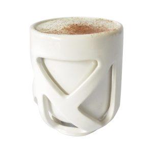 taza caparazon de ceramica marca tuio diseño mexicano doble fondo para cafe