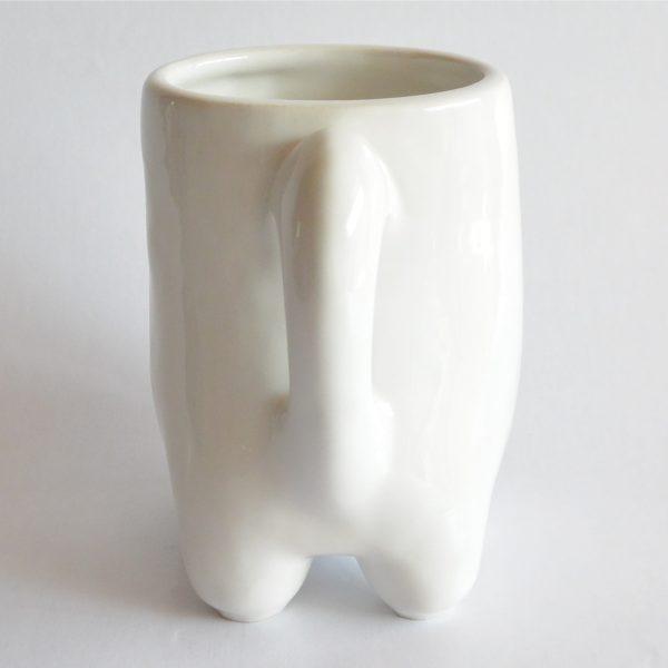 taza huella de ceramica artesanal marca tuio diseño mexicano