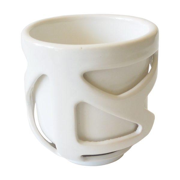 tazon caparazon de ceramica marca tuio diseño mexicano artesanal doble fondo