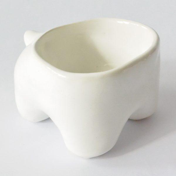 tazon huella de ceramica marca tuio diseño mexicano contenedor original ceramica
