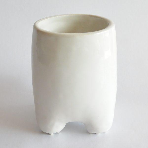 vaso comelon huella de ceramica marca tuio diseño mexicano original