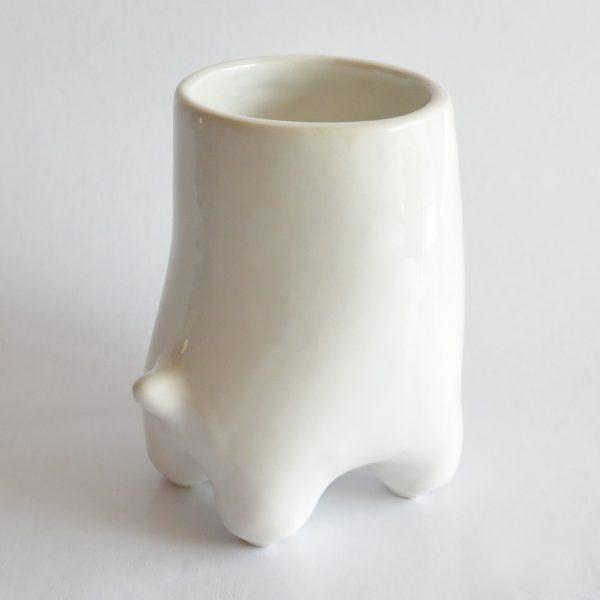 vaso comelon huella de ceramica marca tuio diseño mexicano